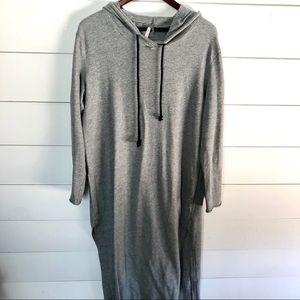 MITTOSHOP Long Sleeve Maxi Dress Size Large